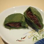 小嶋商店 - 料理写真:よもぎ餅(餡は粒餡)