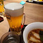 カドヤ食堂 - 生中 390円