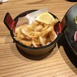とやま鮨 - 白海老の唐揚げ