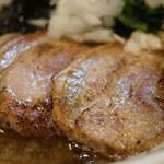 焼あご煮干ラーメン きち - あごの煮干の中華そば ※麺大盛り