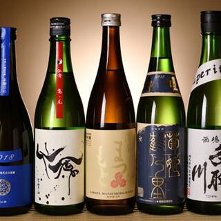 料理の良さを引き立てる日本酒をご用意しました