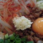 麺屋 誠 - ニンニクは少量でした^^;