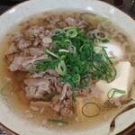 千とせ - 豆腐入り肉吸い 750円