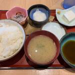 金沢牛たん食堂 10&10 - ライスセット