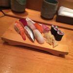 いきをい寿司 - 赤だしの写真撮るの忘れた