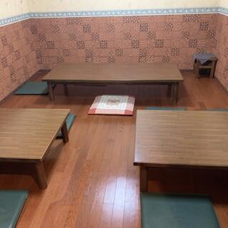 ゆったりと寛げる座敷個室を完備!お子様連れのご家族も大歓迎♪