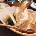 酒の魚 和海 - 自家製 ポテトサラダ