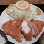 豚菜 - ハーフチキンカツ