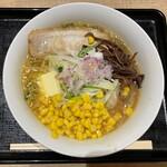 富川製麺所 - 味噌コーンバターラーメン…税込1050円
