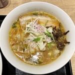 富川製麺所 - ハーフらーめん(味噌)…税込650円