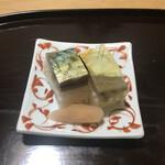 ぎんざ 山路 - 鯖寿司。                                 美味し。