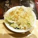 南国亭 - サラダ(サービス)