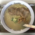 スガキヤ - 肉入りラーメン(大盛) 530円