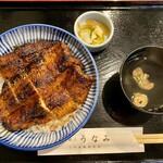 うなみ - 鰻丼上¥2,100