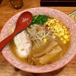 赤坂麺処 友 - 冬季限定味噌ラーメン