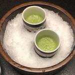 Kuheeryokan - ドリンク写真:小松菜の野菜ジュース