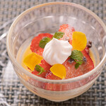 Restaurant MAEKAWA - 奄美徳之島産黒糖のプリン