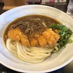 情熱うどん讃州 - 料理写真:カツカレー釜玉