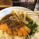 情熱うどん讃州 - 麺アップ