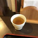 情熱うどん讃州 - 〆はちょこっと出汁