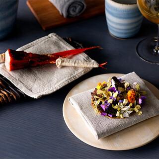 日本食材の新たな可能性を、五感を解放させ愉しむ新感覚の食体験