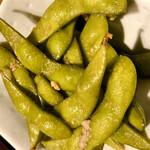 CONA - お通しのアンチョビ枝豆