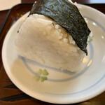 高江洲そば - おにぎり味噌