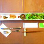 ハンバーグ&ワイン食堂 井の頭モンスター - 【2020年1月28日】前菜&サラダ。