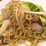 Gansopikaichi - 麺のアップです。(2020.1 byジプシーくん)