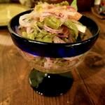 タコス・メキシコ料理 ELtope - サボテンのサラダ 650円