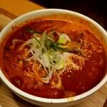 麺と酒 からなり - ユッケジャンラーメン(6辛) 900円