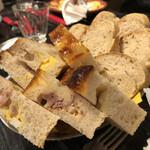 124368112 - トルタノと自家製パン