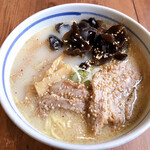 Ramenfukunoya - 塩+キクラゲTP