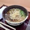 北熊本サービスエリア(下り線)スナックコーナー - 料理写真:ごろっと肉うどん 680円