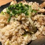 124371001 - 初体験!「鶏ガーリック炒飯」