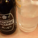 晩杯屋 - ホッピー白セット