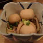 晩杯屋 - イカと里芋の煮たの