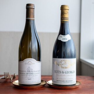 料理を引き立てるワインは美味しくリーズナブルでありたい。