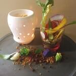 美食の杜ANOU - 大人気バーニャカウダ