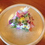 美食の杜ANOU - フラワーケーキ