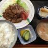 峠茶屋 - 料理写真:焼肉定食とん汁付き