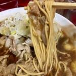 124376480 - 中華そば(大)麺アップ