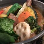 Rojiura Curry SAMURAI. - 野菜14品目