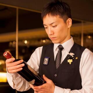 ソムリエ鈴木亮平の紹介~提供時の温度、グラスへのこだわり~