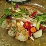 12438056 - ヤリイカと有機野菜