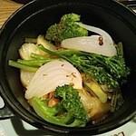 12438060 - 有機野菜の白ワイン蒸し