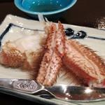 鮨 波やし - 毛蟹