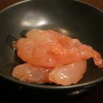 鮨 波やし - 甘海老塩辛風