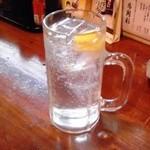 居酒屋 馬関彩 - 生レモンサワー