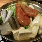 北の味紀行と地酒 北海道 - 氷下魚と海老の海鮮丼(2人前)